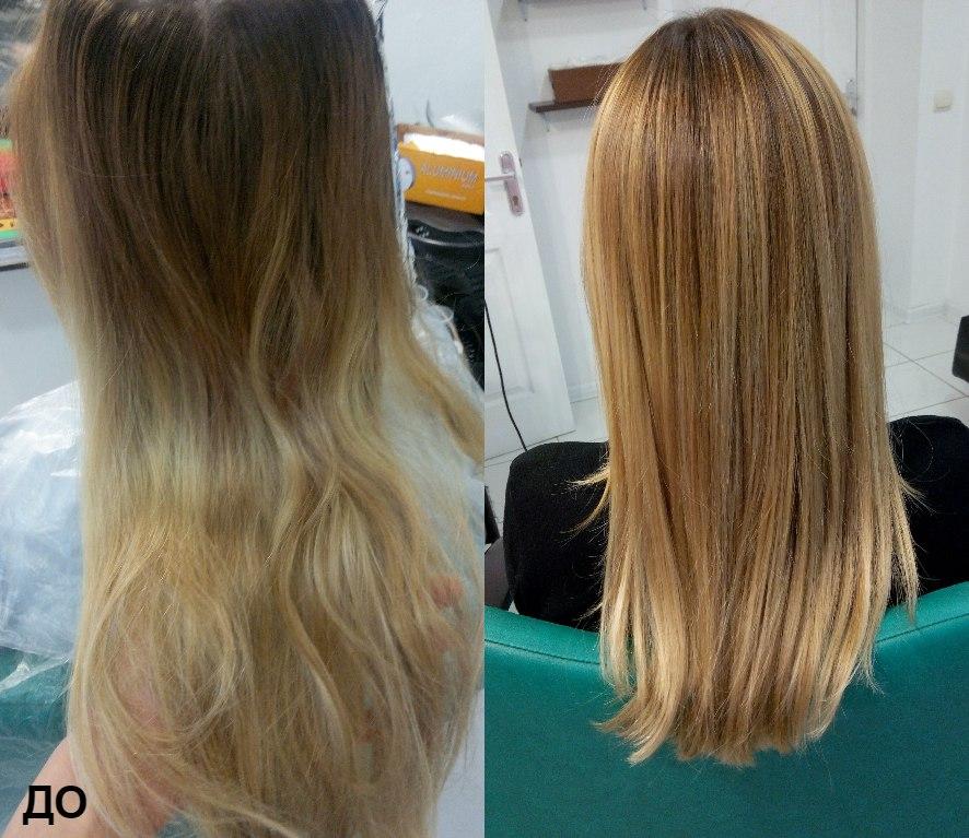 Реконструкция волос джойко